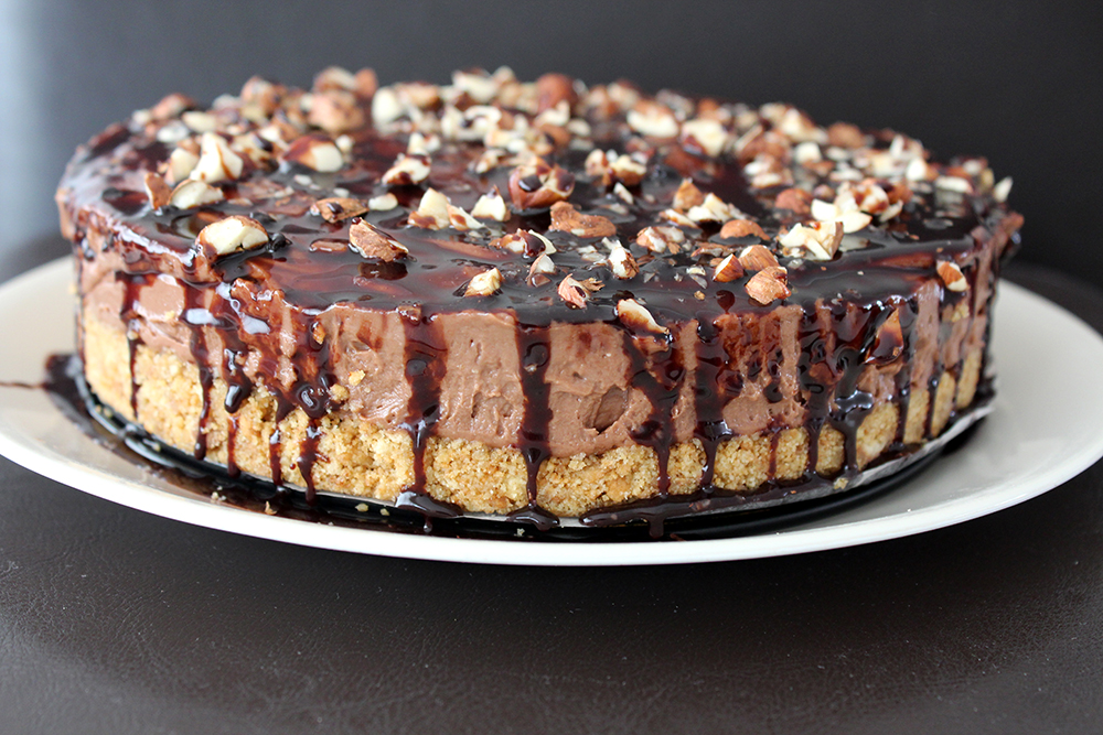 How to make No Bake Nutella Cheese Cake